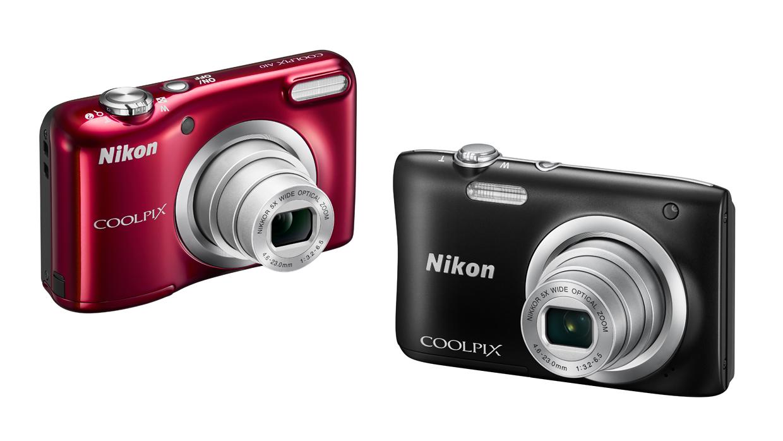Predstavujeme nové fotoaparáty COOLPIX A100 a A10