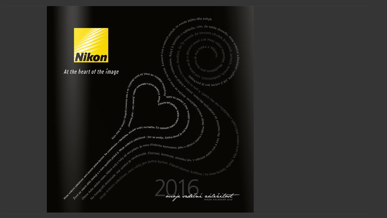 Nikon kalendár 2016
