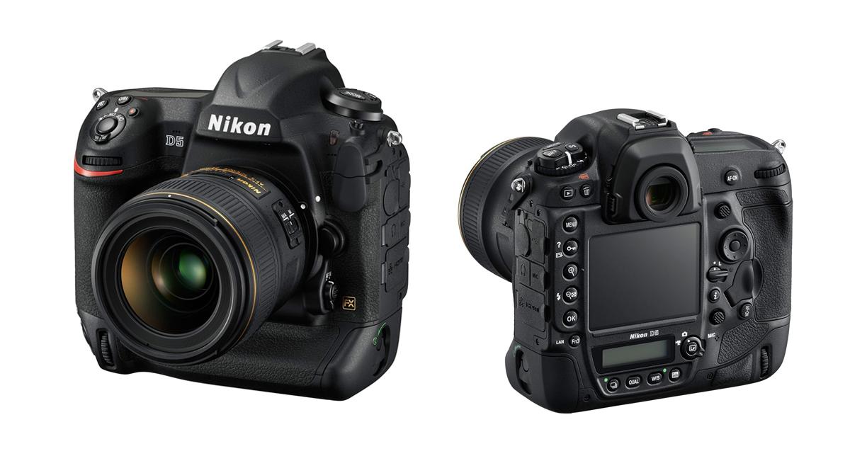 Nová profesionálna FULL FRAME zrkadlovka Nikon D5!