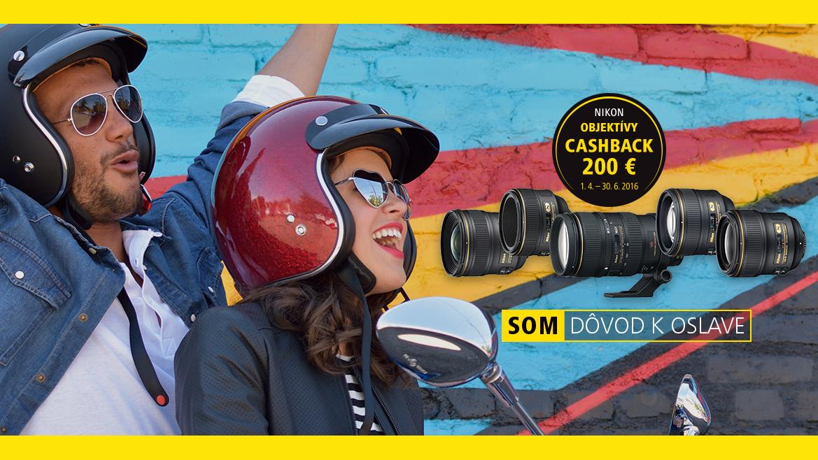 Získajte 200€ späť pri nákupe profesionálnych objektívov Nikon