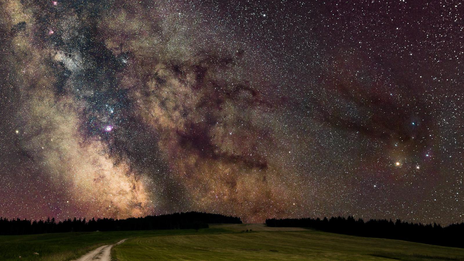 Nočná krajina Veľkej Fatry. Fotokurz Nikon Školy.