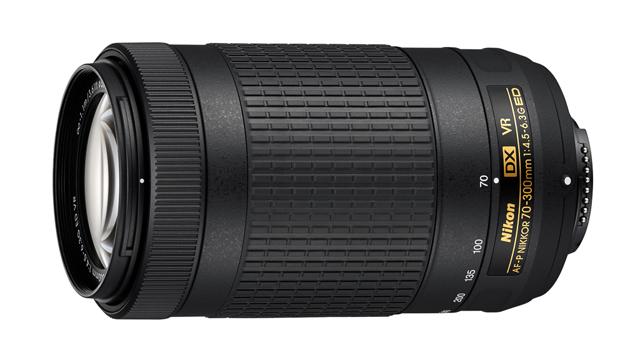 Teleobjektívy Nikon s krokovým zaostrovacím motorom AF-P