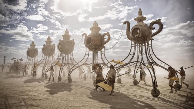 Fenomén Burning Man okom Mareka Musila v Nikon Photo Gallery