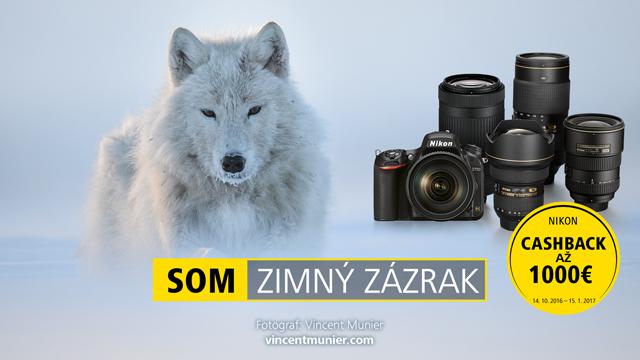 Zimný CASHBACK Nikon