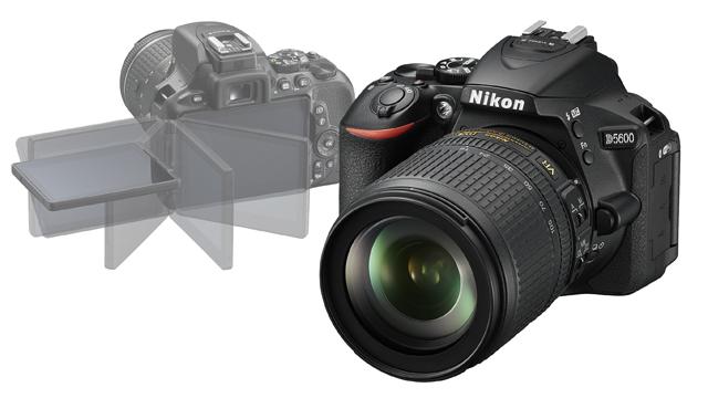 Neustále pripojený. Nikon D5600