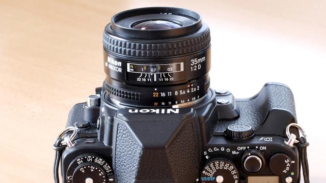 Nenápadný spoločník. Nikon AF 35mm f/2 D.