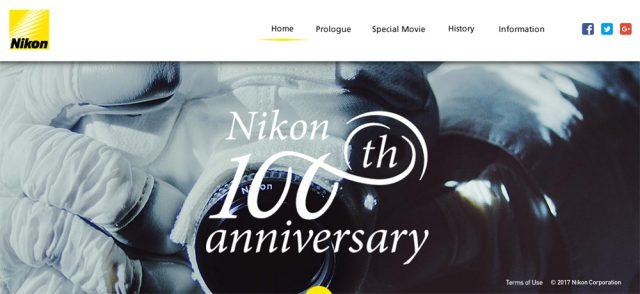 Nikon100thWebsite