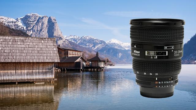 Krásne nedokonalý. Nikon AF Zoom Nikkor 20-35mm f/2,8 D