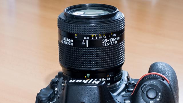 Prekvapenie z lacného kraja. Nikkor AF 35-105mm f/3,5-4,5 D
