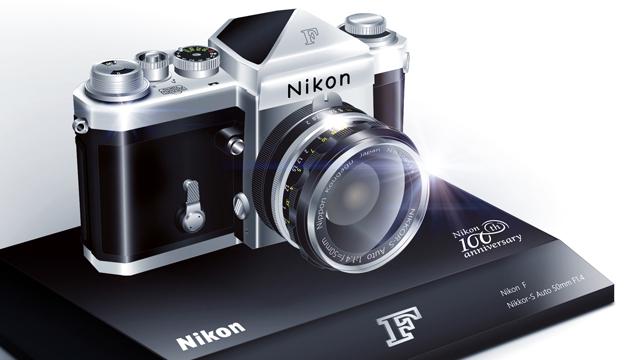 Nikon predstavuje produkty a spomienkové predmety vyrobené pri príležitosti 100. výročia založenia spoločnosti