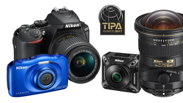 Štyri ocenenia TIPA 2017 pre Nikon
