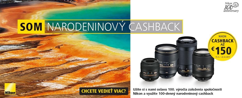 Narodeninový cashback Nikon a špeciálne narodeninové zľavy