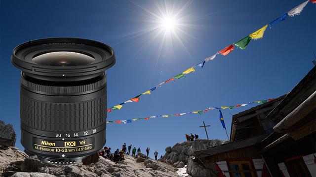 Ultraľahký a ultraširokouhlý. Nikkor AF-P DX 10-20mm  f/4,5-5,6 G VR