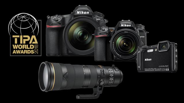 4x ocenenie TIPA pre Nikon