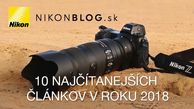 10 najčítanejších článkov na Nikonblog.sk v roku 2018