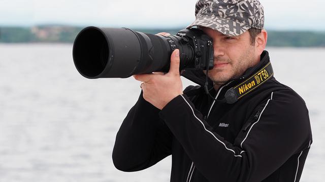 Oblečte sa do Nikon-u