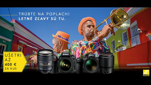Tamtadadá! Ušetri s Nikonom!