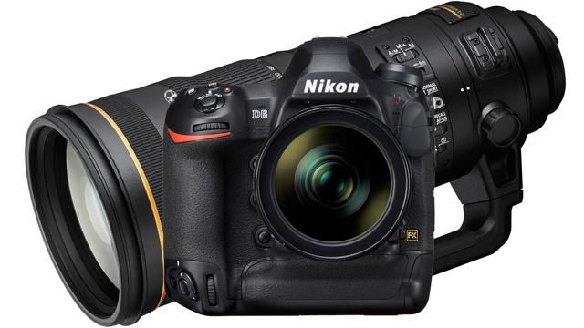 Nikon oznamuje vývoj fotoaparátu D6 a objektívu  AF-S NIKKOR 120-300 mm f/2,8E FL ED SR VR