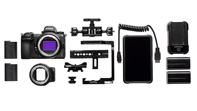 Profesionálna súprava Nikon Z 6 pre náročných filmárov
